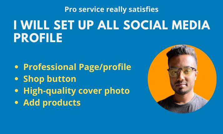 I will build and set up your social network sites