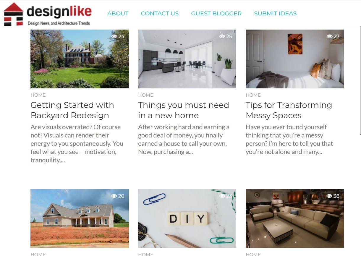 publish a guest post on a home blog da 50 designlike, com