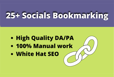 create high quality social bookmarking for boost traffic in your website