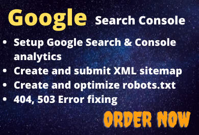 Google search console setup | google index website