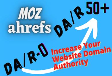 increase Domain Authority MOZ DA 30 plus