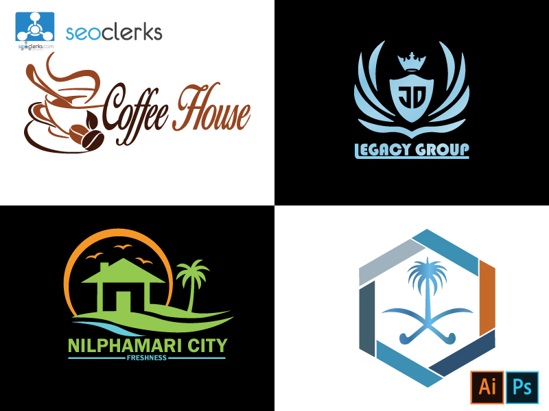 Memorable,  Simple,  Versatile,  Appropriate,  Timeless & Typography Logo Design on Your Business.