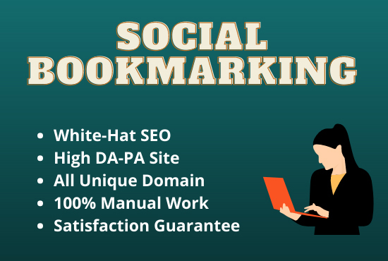 I Will Provide You 30+ Social Bookmarking For Rank Your Website