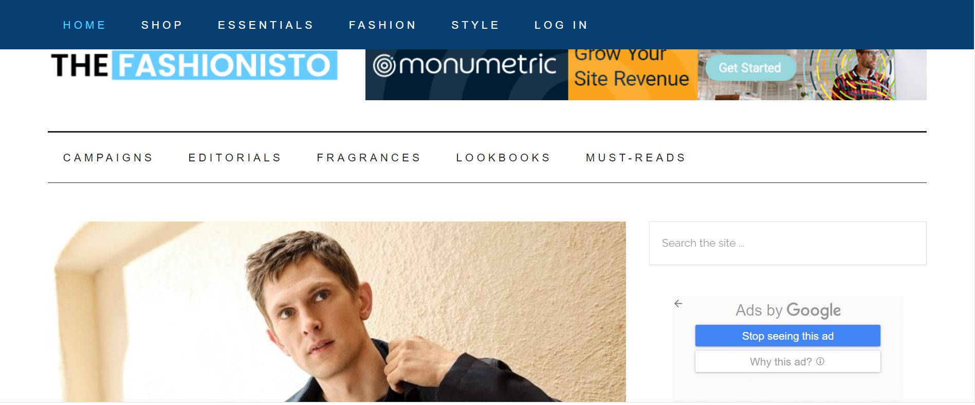 I will write and publish articles on thefashionisto