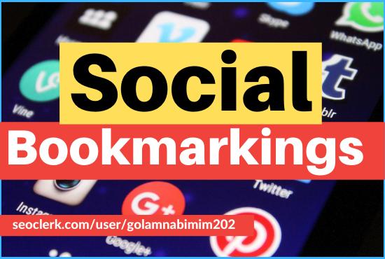 Get 30 high quality socialbookmarking