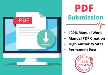 30 Manual PDF Submission Service on Best Sharing Sites for Google Ranking