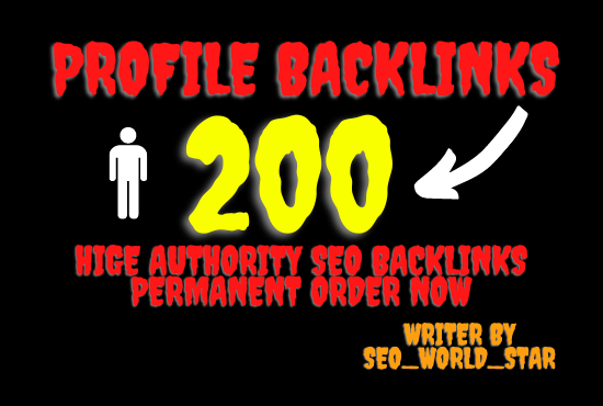 I will create up to 200 polish profiles,  high quality polish profiles with backlink