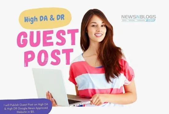 I will publish guest post google news site dofollow backlink