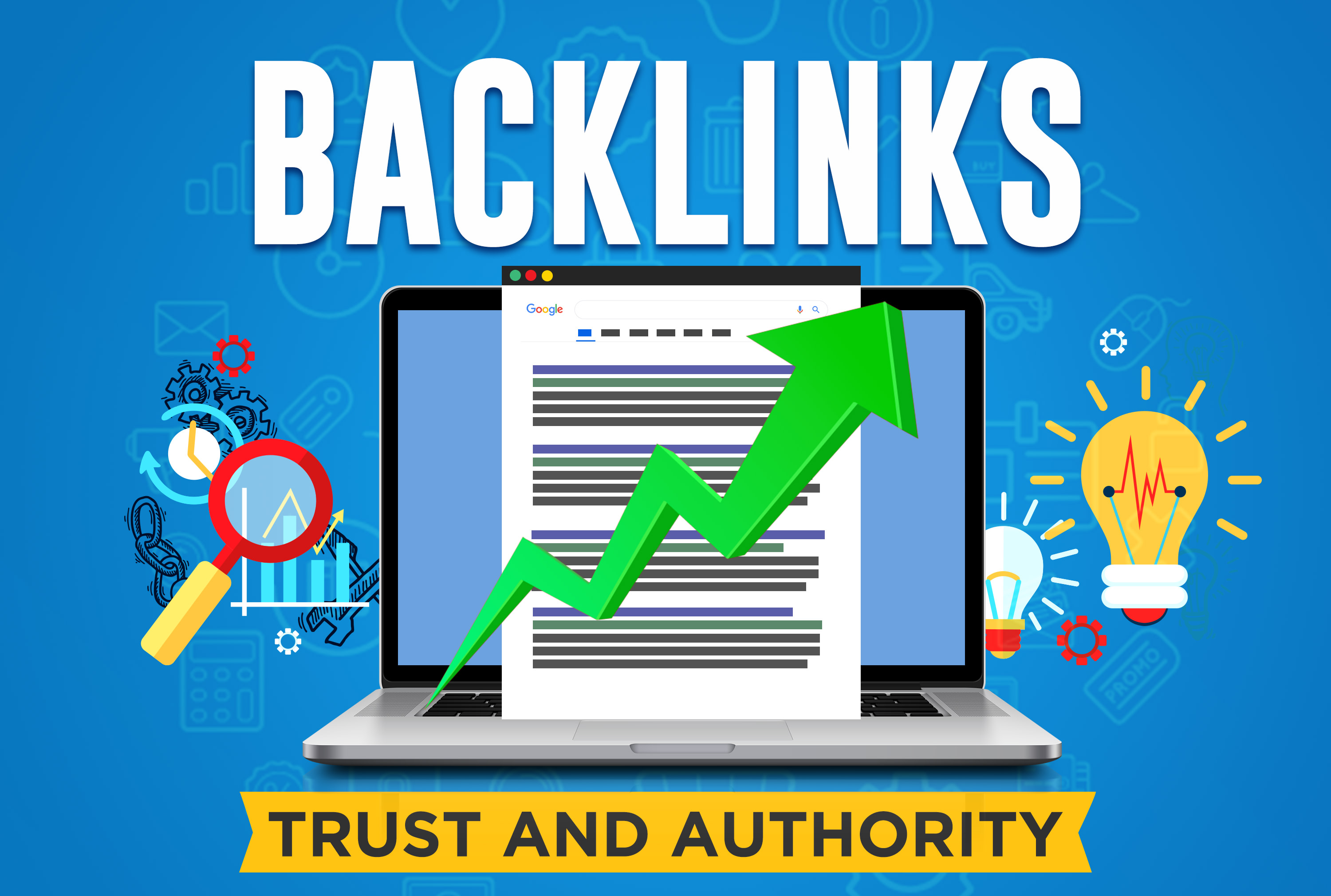 I will do 100 high authority seo backlinks from top brands link building top rankings