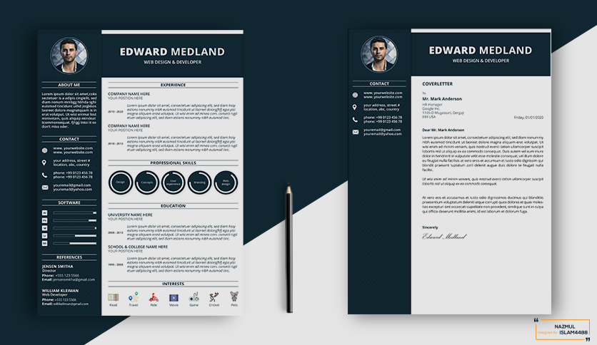 I will provide the best professional Resume,  CV,  Cover Letter Designs and LinkedIn