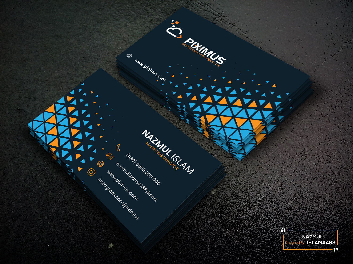I will provide professional Business Card design for your business