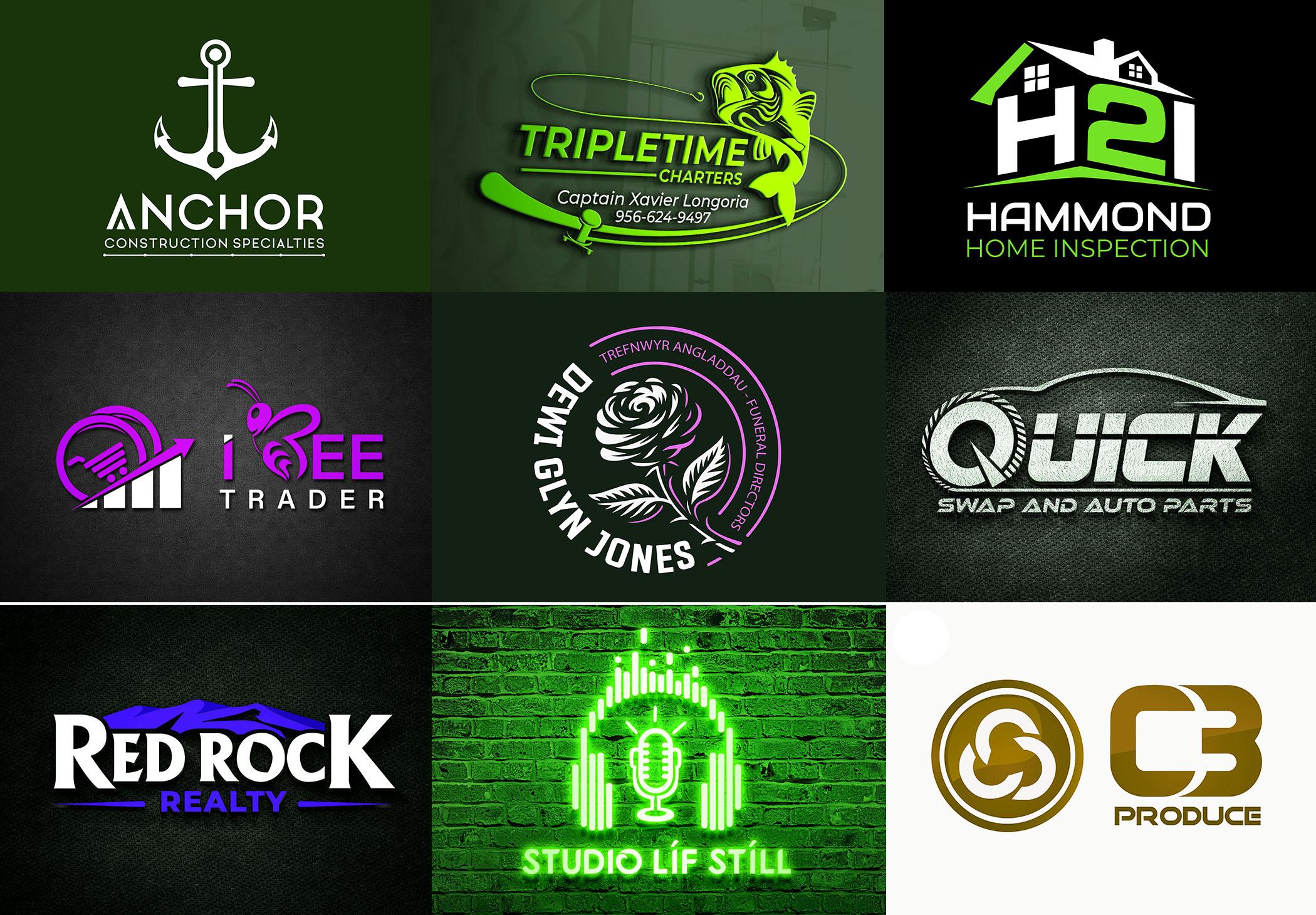 I will create modern creative trendy business logo design