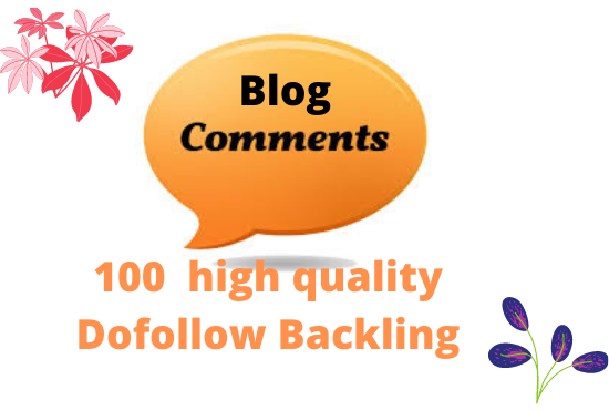 make 300 high quality backlinks using blog comments