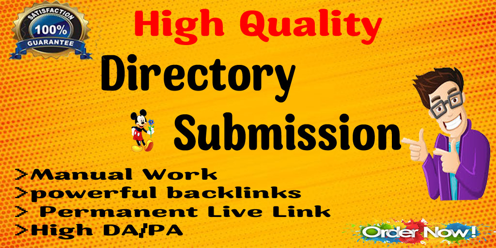 I will do 70+ High quality Directory submission
