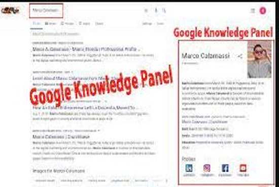 I will do approved and qualified google knowledge panel for you or company
