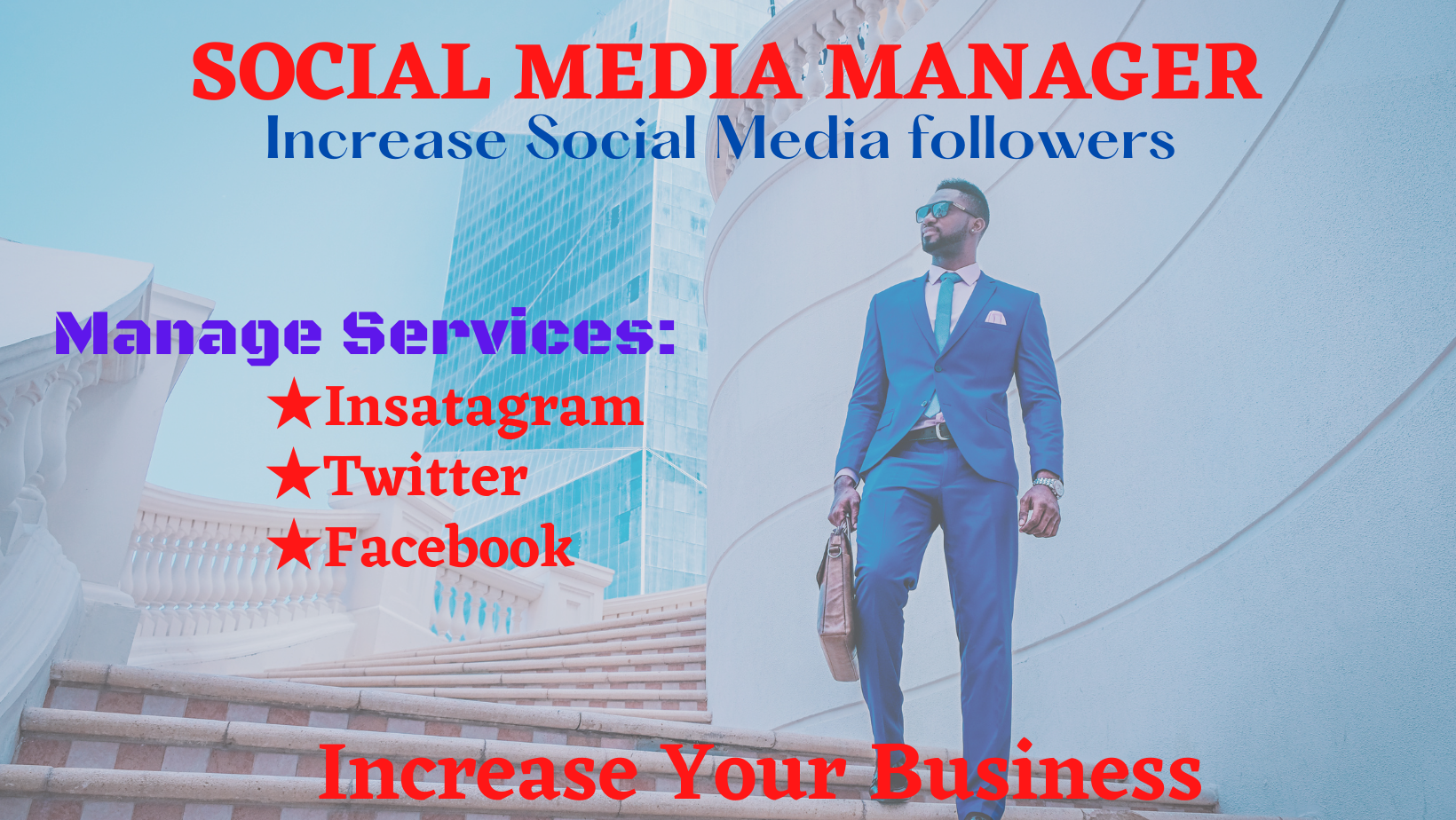 I Will be Your Professional Social Media Manager