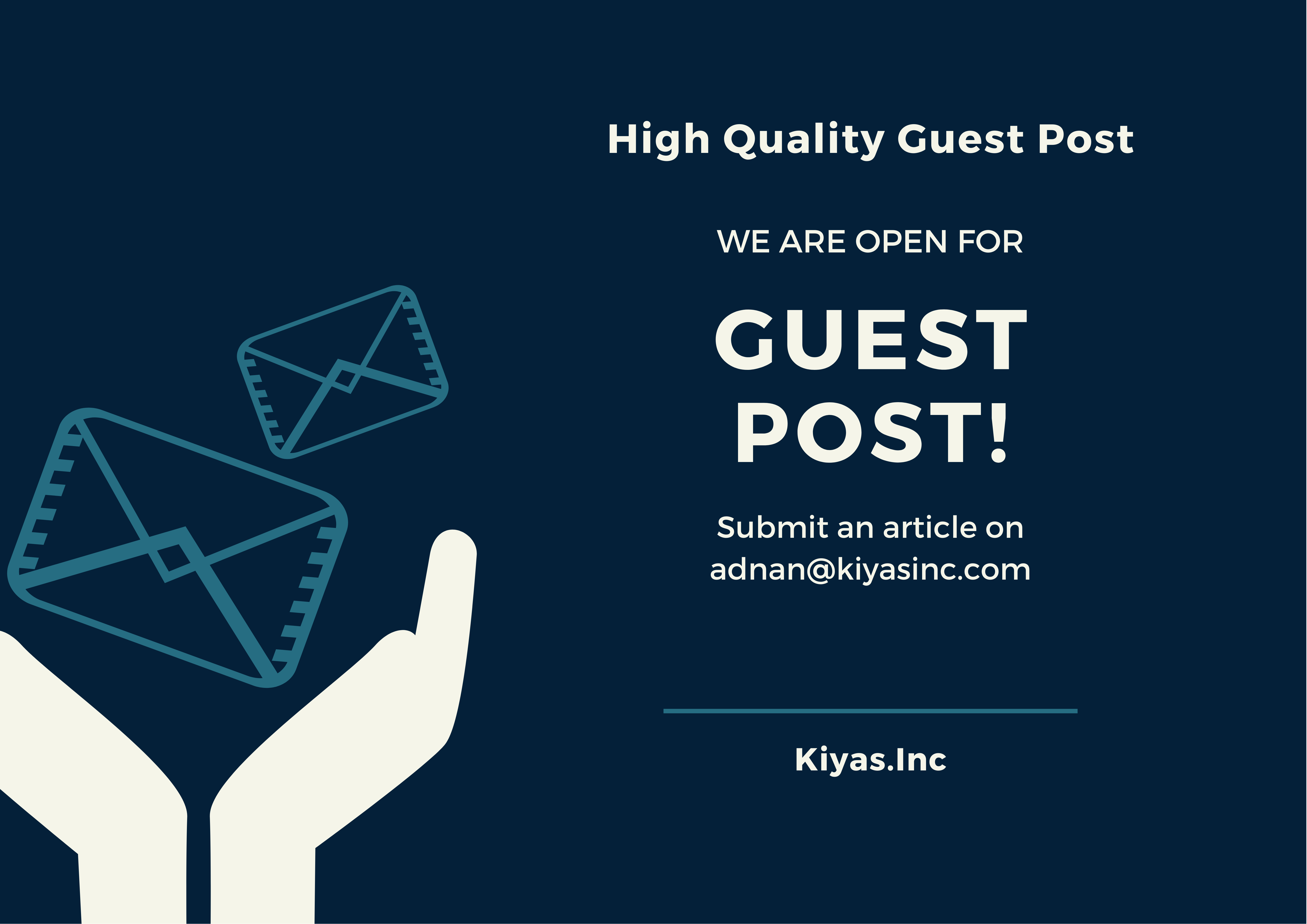 I will publish guest post on high quality DA 20 personal blogs