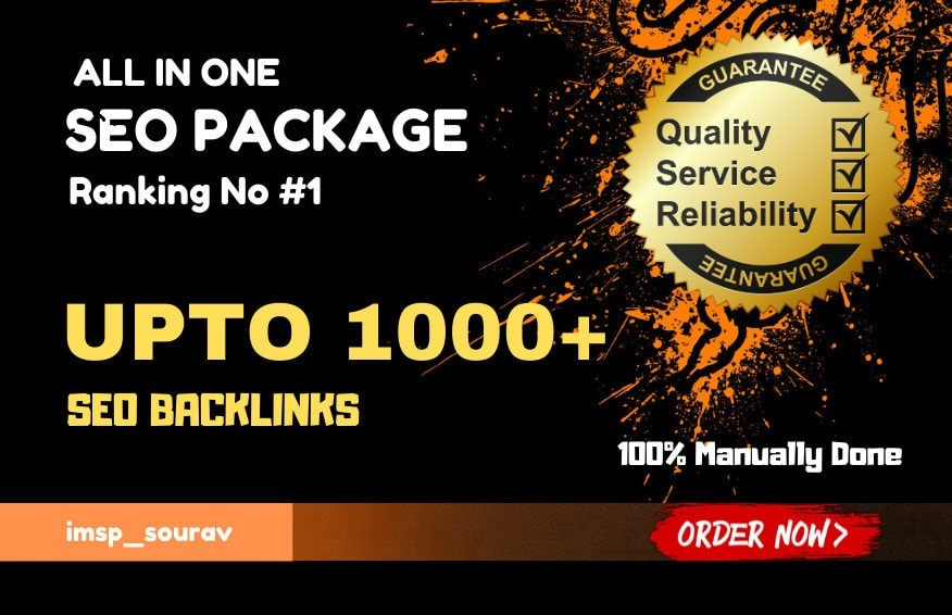 I will 1000 high quality dofollow contextual backlinks