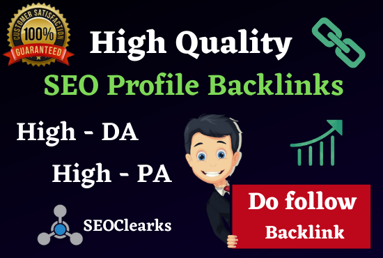 Rank On Google 1st Page 100 SEO Manual High Authority Backlinks,  Web 2.0 & Profile Bookmark