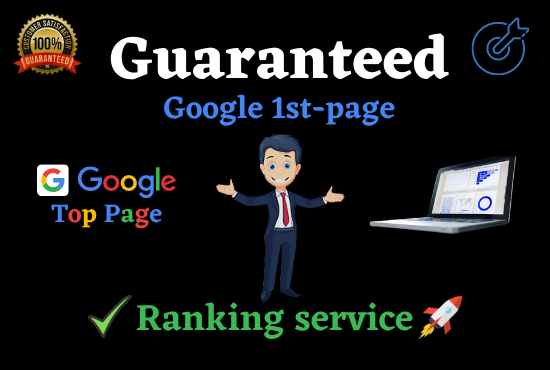 Get guaranteed Google 1st page ranking with White Hat link building