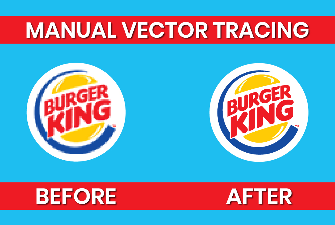 I will vector trace,  recreate your logo,  sketch or image,  convert image to vector