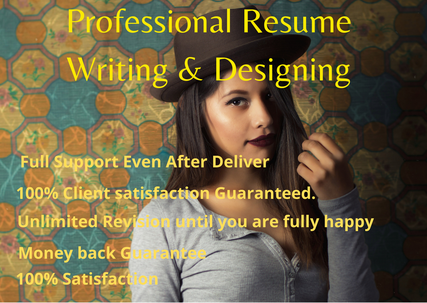 I will provide professional resume writing and designing service for you