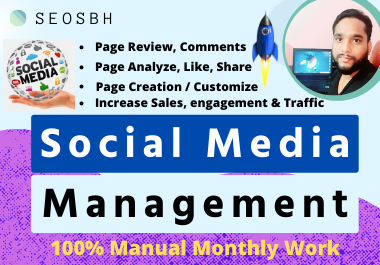 D0 Social Media Management along with Page Review bring more engagement with High Authority Backlink