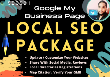 Local SEO Management 300 Manual Directory Listing along with GMB verify Map Citation Optimization