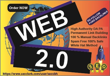 Web 2.0 Permanent 20 High Authority Link Building For Your Web Ranking with Do Follow Links