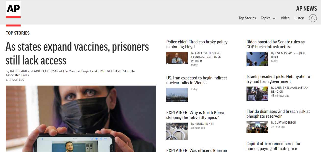 Able to Publish Press Release content On APnews. com DA 91 Dofollow backlink