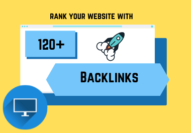 120 Manually created High Authority Profile Backlinks with unique domain.