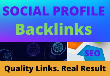 20 Social Bookmarks High authority DA & PA Permanent dofollow Backlinks