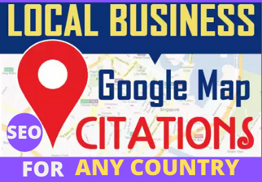200 Manual Google Map Citations permanent must rank your website in local seo