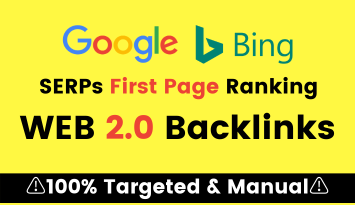 25+ High DA Web 2.0 Blog Backlinks