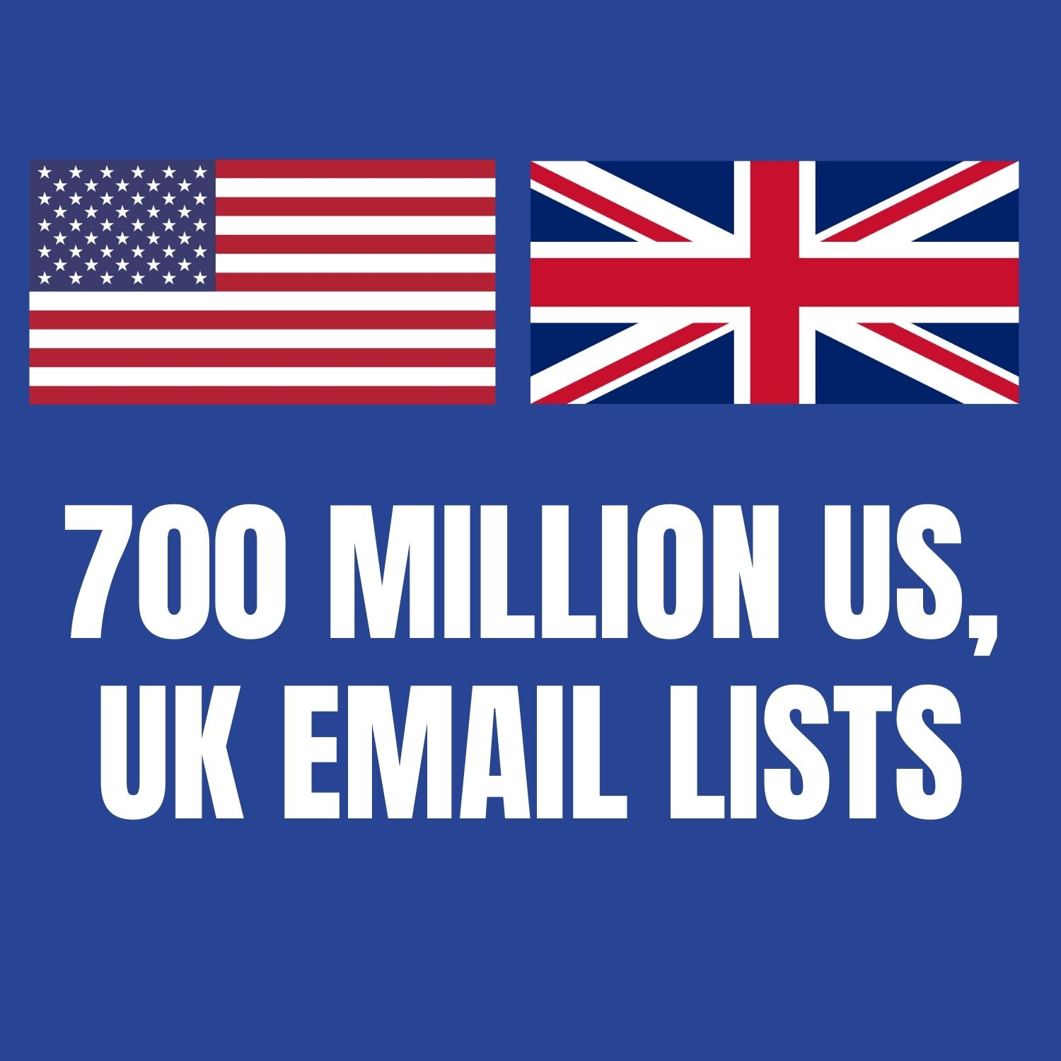 I will provide you Active 700 Million US,  Uk Email lists