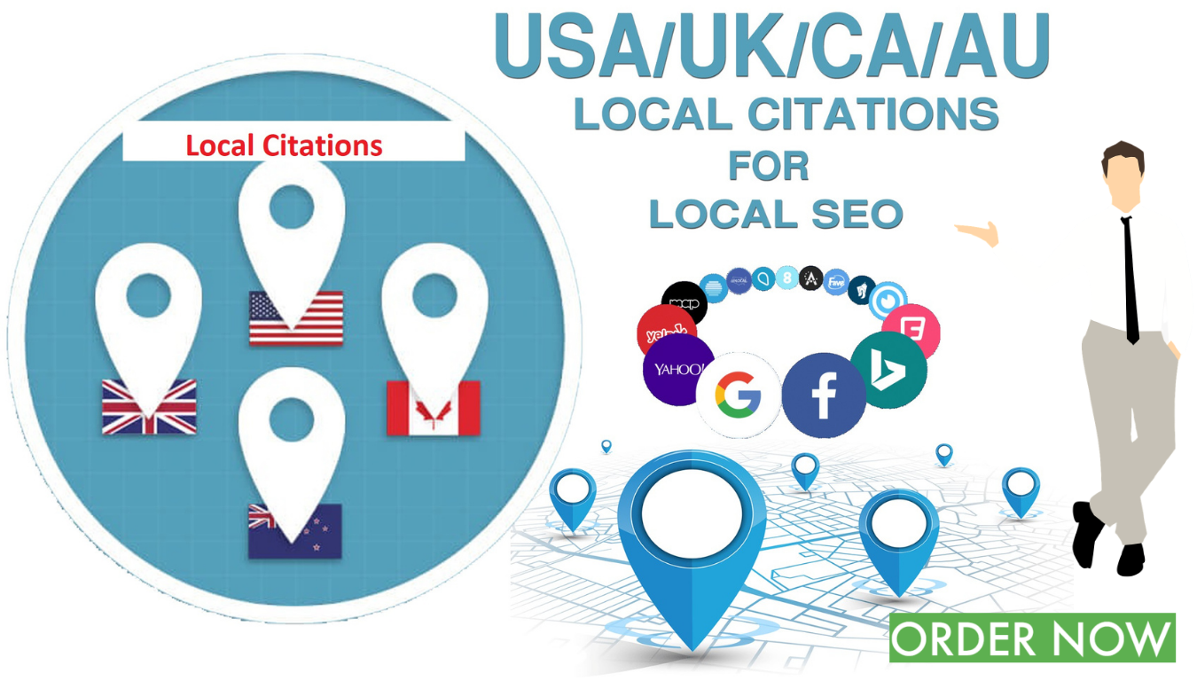 I will create manualy any country 30 local citations