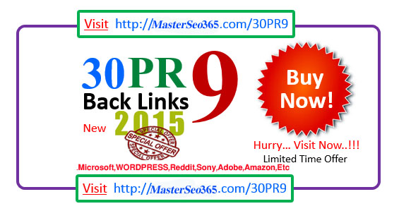 I Will Do 30 PR 9 to PR 5 Do-Follow High Authority Back-Link In Your Website