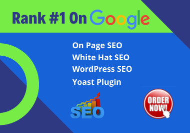 I will do complete on page SEO for your wordpress website