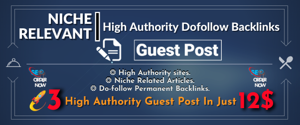 Write and Publish HQ 15 Niche Relevant Guest Posts on High DA websites with Dofollow Backlinks