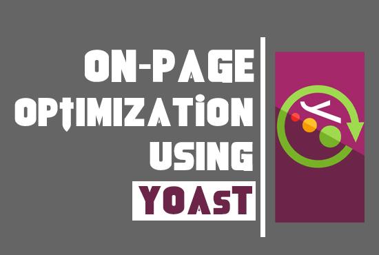 Complete WordPress Yoast SEO on-page optimization