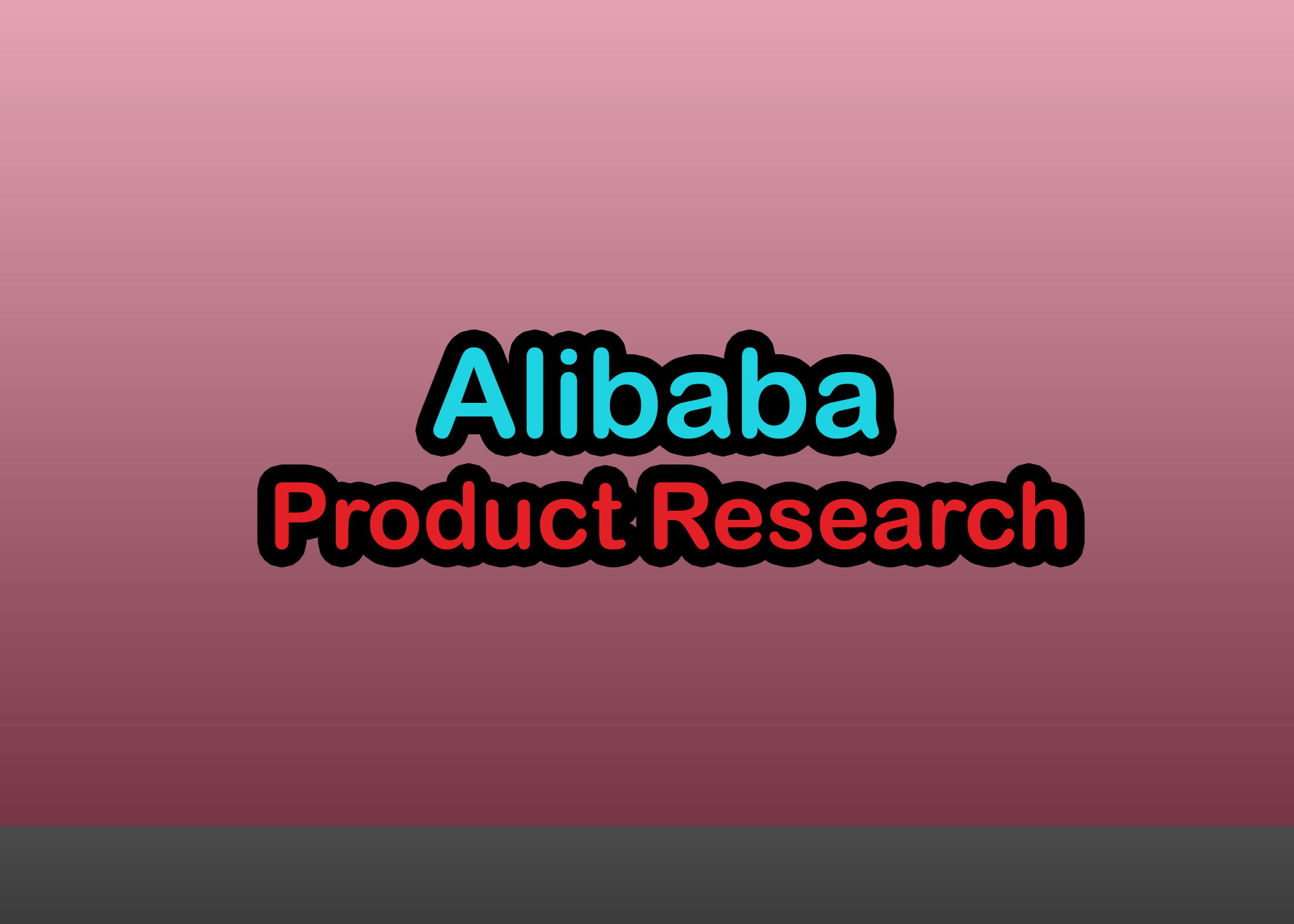 I will do Alibaba product research,  keyword research and product posting for you
