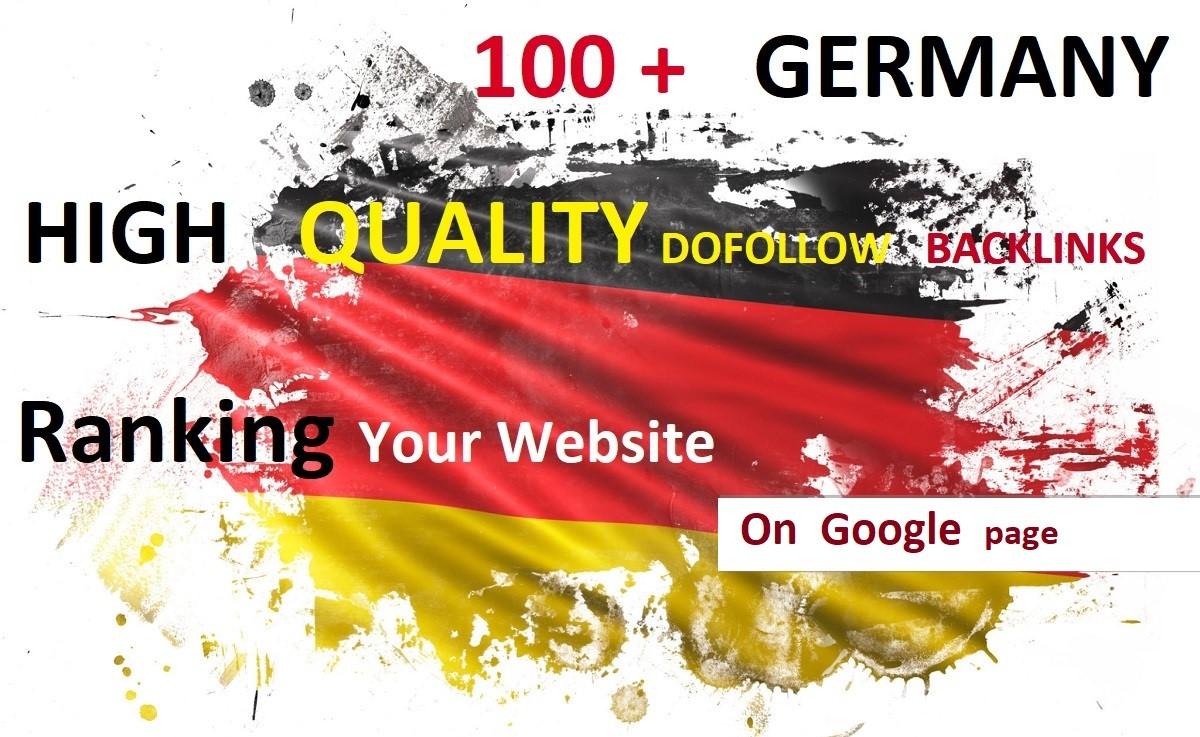 I will do 100 + high quality manually dofollow backlinks service / ranking your website
