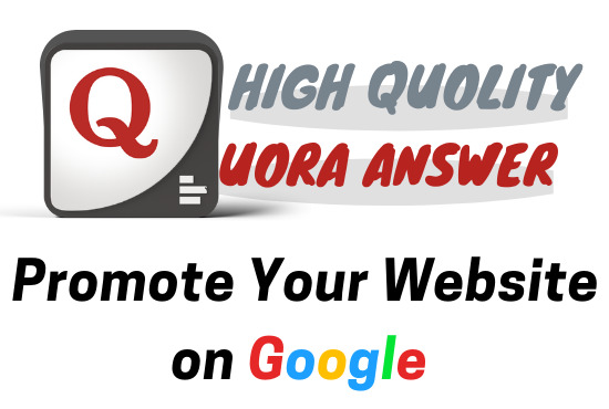 I will do real traffic with 5 powerful Quora Answer