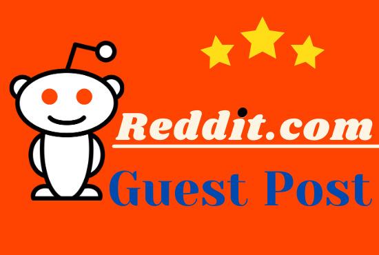 I will do manual 5 Powerful Reddit Post