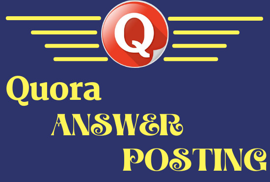 Unique 3 HQ & Manually Quora answer with your keyword