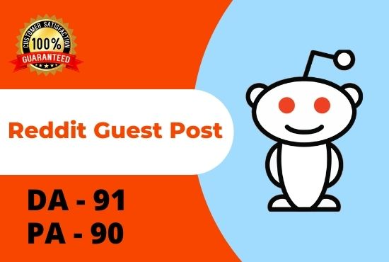I Will Write And Publish 5 HQ Guest Post On Reddit With Google Index Guaranteed Backlinks