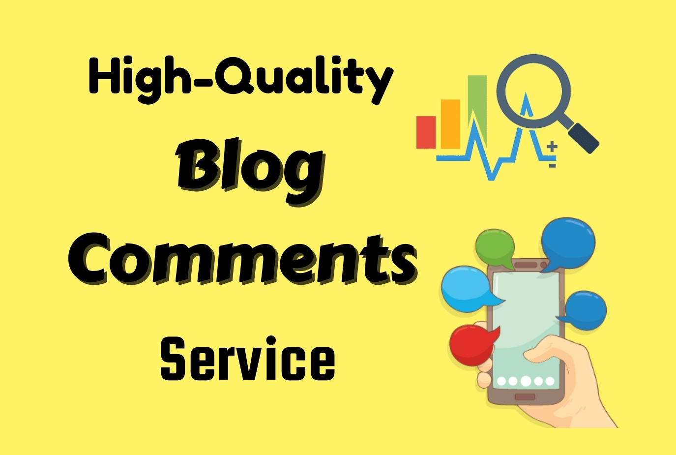 I will provide 50 niche relevant manual Blog Comments Backlinks