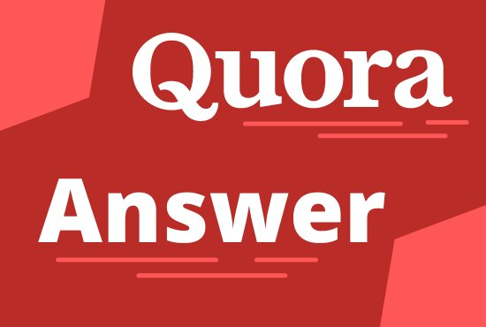 I'll provide 5 HQ Quora answer posting with backlink