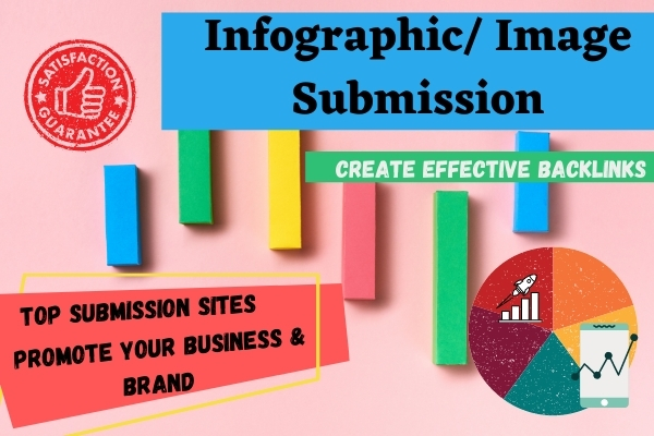I will submit info graphic on 20 high authority image sharing sites