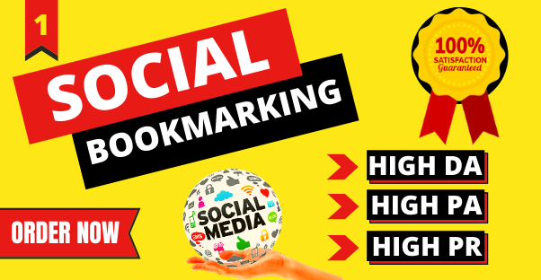Top 30 HQ Authority Social Bookmarking SEO Backlinks to Rank Your Website